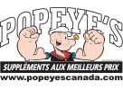 Popeye's suppléments sherbrooke
