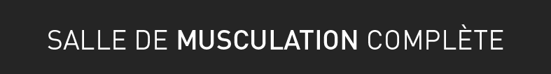 musculation, appareils